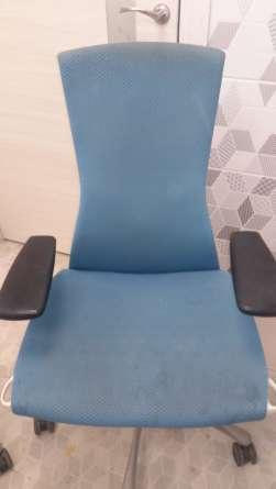 Офисный стул до химчистки