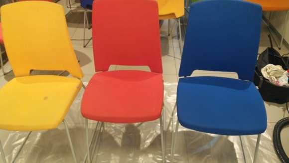 Химчистка стульев в офисе