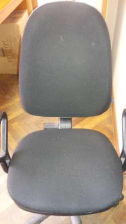 Офисное кресло до чистки