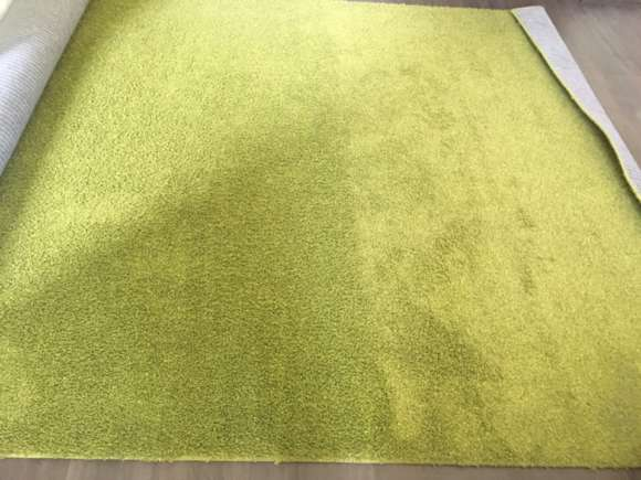 Ковровое покрытие после химчистки