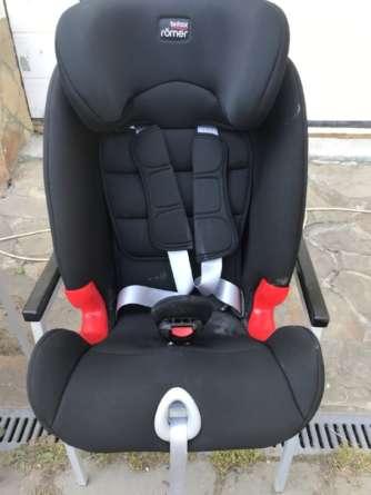 Автомобильное детское кресло до чистки
