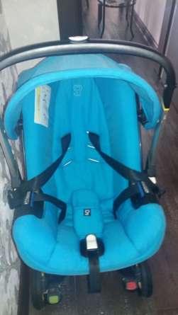 Чистка детской коляски
