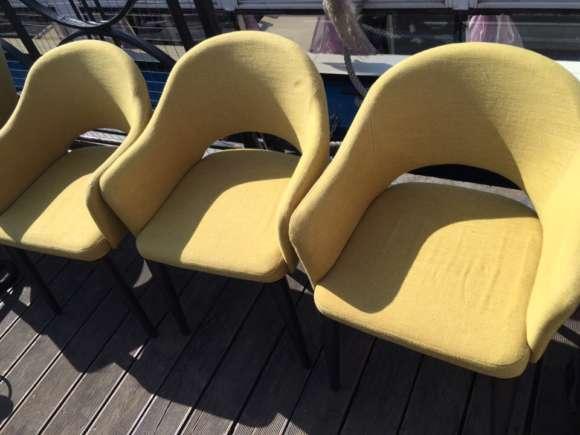 Химчистка стульев из ресторана