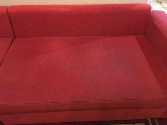 Раскладной диван до химчистки